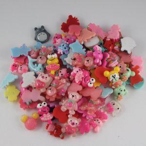 Кабошон, пластик, МИКС, Животные, размер: 16-22мм (1уп=50шт), Арт. КБП0278