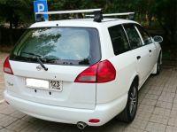 Багажник на крышу Nissan AD, Атлант, аэродинамические дуги