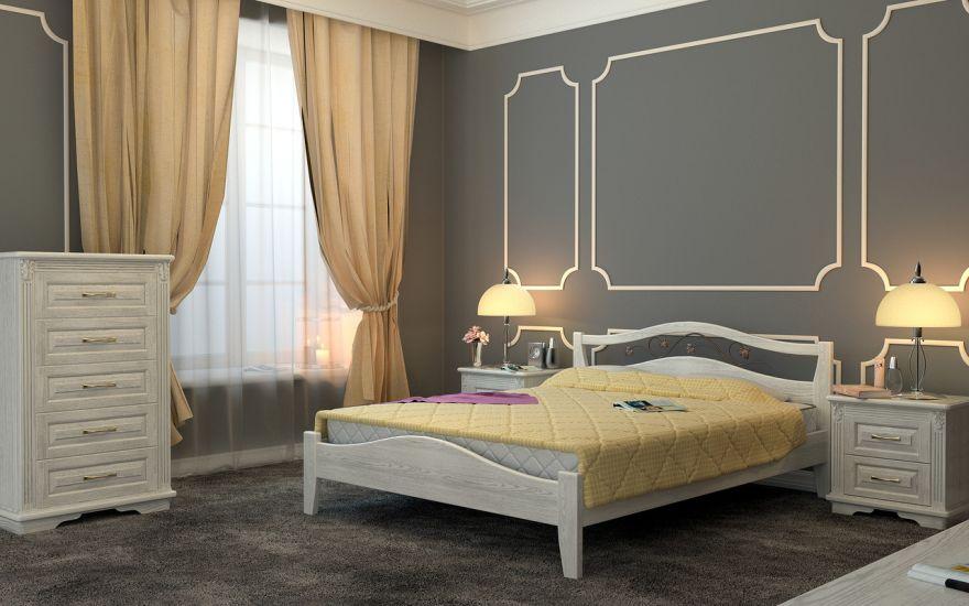 Кровать Верона 1 (массив бука) | DreamLine