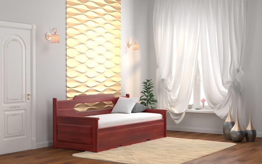 Кровать тахта-трансформер Неаполь (массив ясеня) | DreamLine