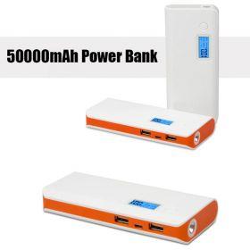 Внешнее зарядное устройство 50000mAh Power Bank с LCD дисплеем