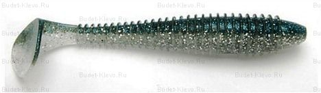 Силикон Keitech Swing Impact FAT 431 Silver Shiner
