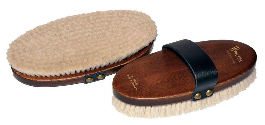 Щетка  W-Profile, мягчайший волос на деревянной лакированной основе 21 см
