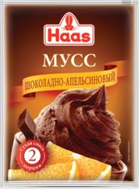 ХААС Мусс шоколадно-апельсиновый 65 г