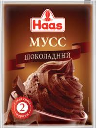 ХААС Мусс шоколадный сухая смесь 65 г