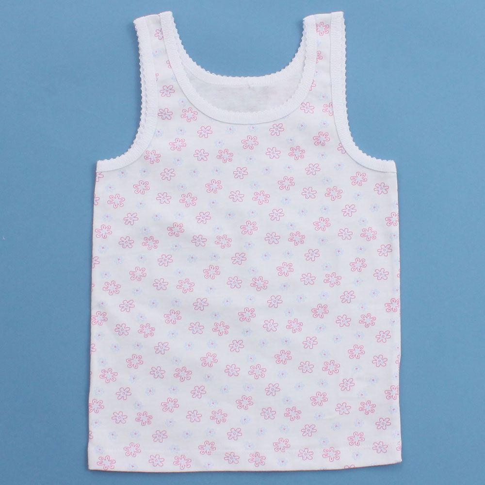 Майка Розовые цветы для девочки 5 лет