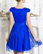 Платье Мальвина для бальных танцев