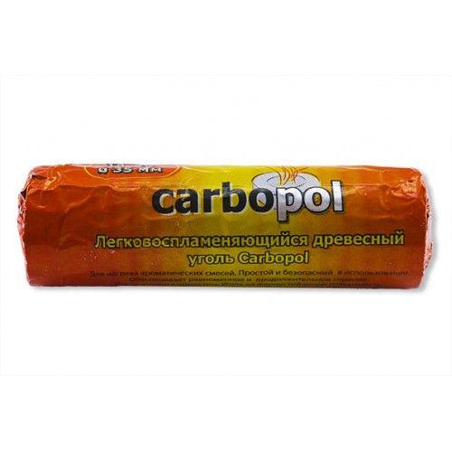 Уголь Самовозгорающийся Carbopol (10 углей 35 мм)