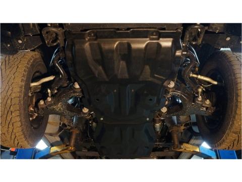 Защита композит картера, КПП и РК Toyota Tundra 2007-13, 2014+