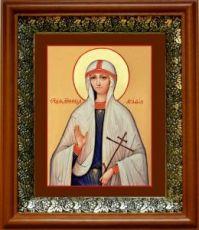 Агафия Панормская (19х22), светлый киот