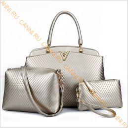 Набор сумок C-03.3 Золотистая