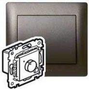 Термостат с дисплеем PLC Galea Life Темная бронза (арт.771294)