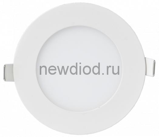 Панель светодиодная круглая RLP-eco 6Вт 230В 4000К 420Лм 120/100мм белая IP40 IN HOME