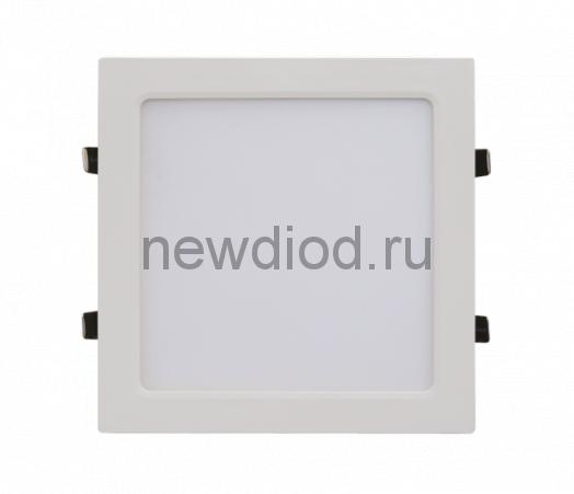 Панель светодиодная квадратная SLP-eco 18Вт 230В 4000К 1260Лм 225х225х23мм белая IP40 IN HOME