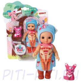 Кукла Zapf Creation Chou Chou Шу-Шу Мини-лисичка 12 см в ассортименте (1 волна)