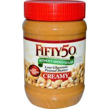 Fifty 50 Low Glycemic Peanut Butter Creamy (510 гр.)