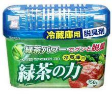 Kokubo Поглотитель неприятных запахов для холодильника с экстрактом зелёного чая, 150 г