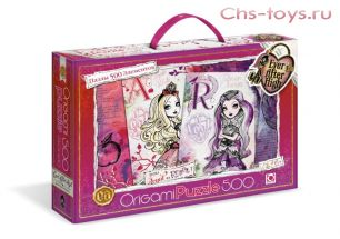 "Пазл 500 дет. ""Ever After High"", Origami (00677)"
