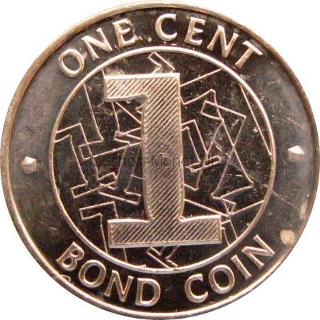 Зимбабве 1 цент 2014 г.