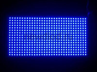 Модуль для бегущей строки 320*160 P10 синий 20W