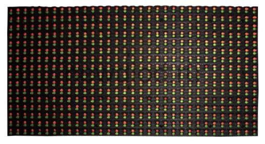 Модуль для бегущей строки 320*160 P10  красно-зеленый RG