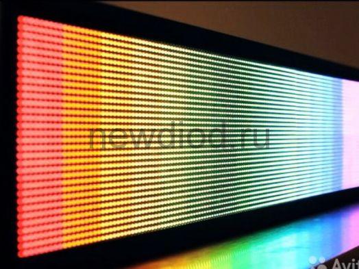 Модуль для бегущей строки 320*160 P10 RGB 40W