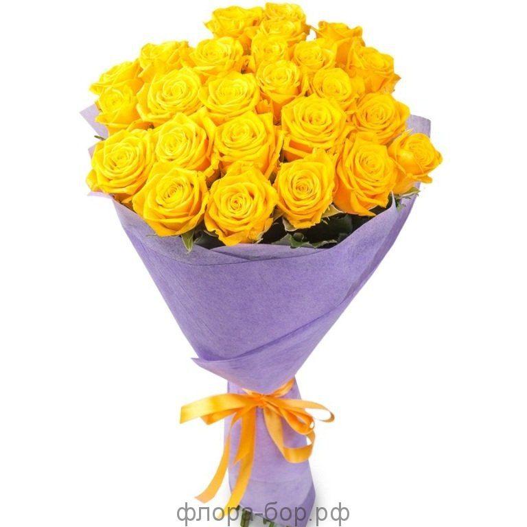 Розы 25 шт. фетр