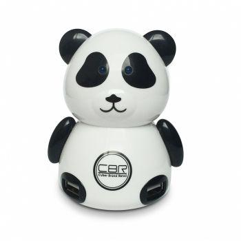Концентратор USB (HUB) CBR MF-400 Panda, 4 порта, USB 2.0, игр.пингвин