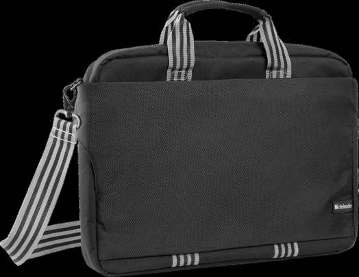 """Сумка для ноутбука Defender Swift 15''- 16"""" черный, органайзер, карманы"""