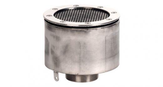 """Водозабор с сетчатой крышкой XenoZone д.165 2""""(внутр.) пленка"""