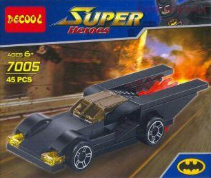 Конструктор Decool Super Heroes Бэтмобиль 45 дет. (7005)