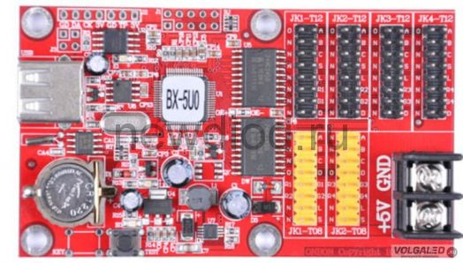 Контроллер для сд экранов BX-5U0 с USB