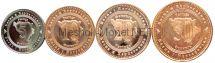 Набор монет Боснии и Герцеговины (4 монеты)