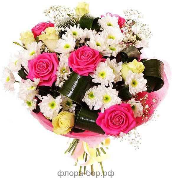 Букет цветочная радость