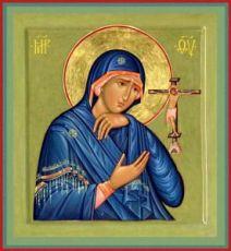 Ахтырская икона БМ (рукописная на заказ)