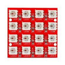 Светодиодная панель на 16 rgb светодиода.