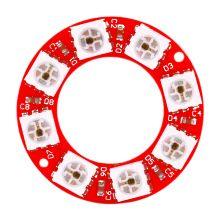 Светодиодное кольцо - WS2812 8bit RGB, 8 светодиодов