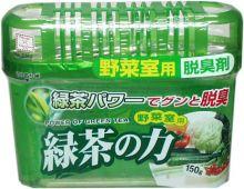 Поглотитель запахов для холодильника Kokubo Зеленый чай (овощная камера), 150 г