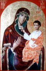 Барколабовская икона БМ (рукописная на заказ)