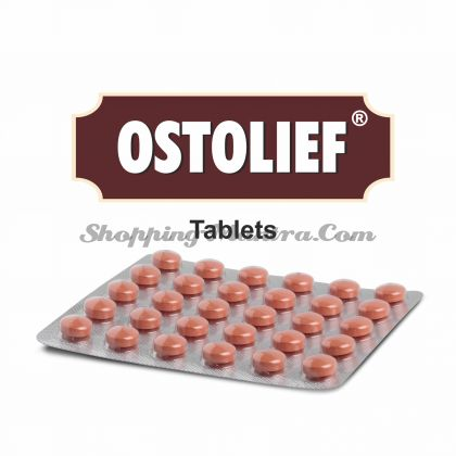 Хондропротекторный и противоостеоартритный препарат Остолиф Чарак Фарма | Charak Pharma Ostolief Tablet