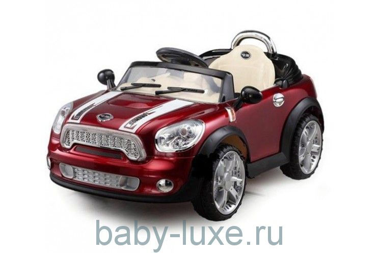 Электромобиль Joy Automatic JE118 RС Mini Cooper с пультом д/у