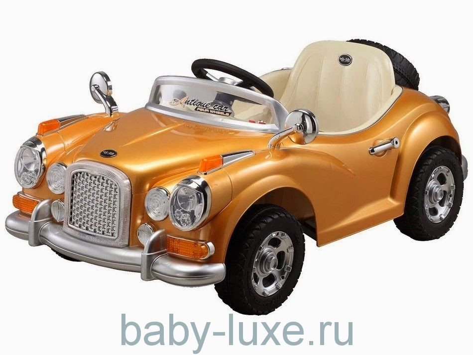 Электромобиль Joy Automatic JE128 RC Retro с пультом д/у