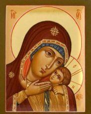Горбаневская икона Божией Матери (рукописная)