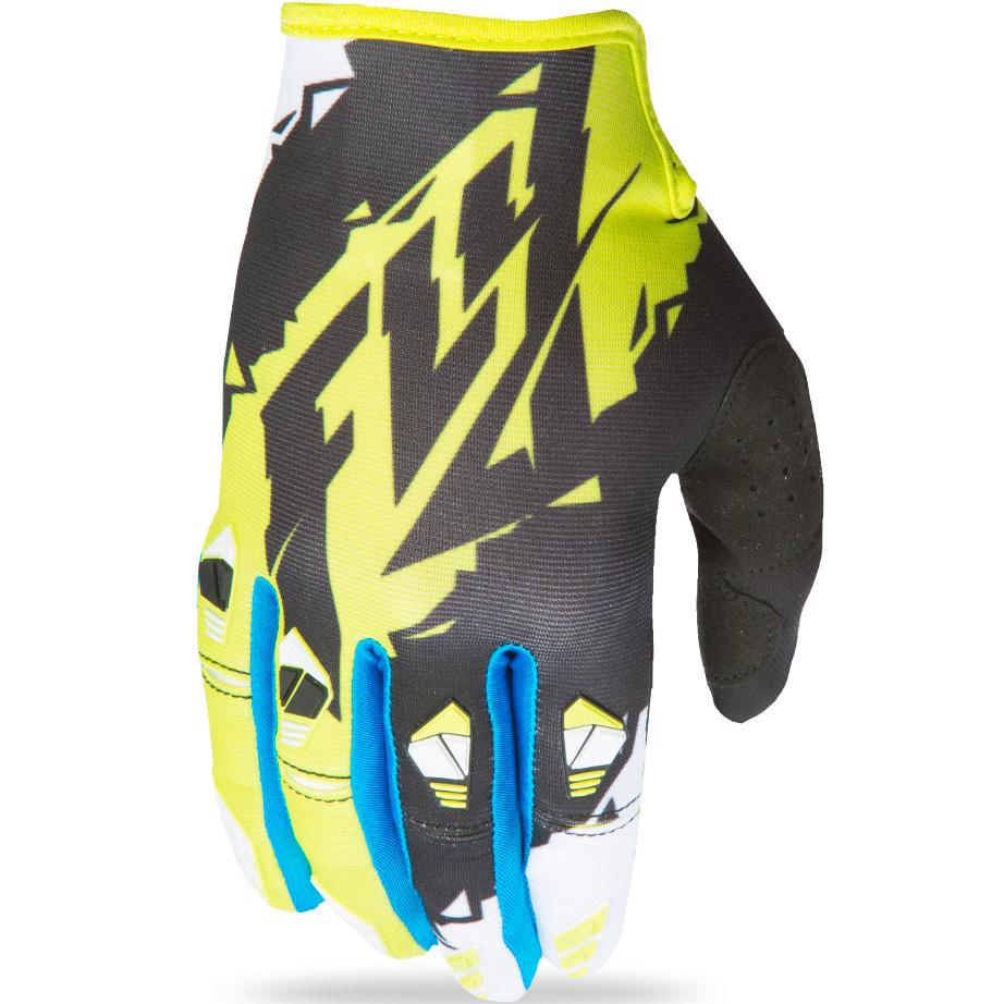 FLY - 2017 Kinetic перчатки, черно-желтые