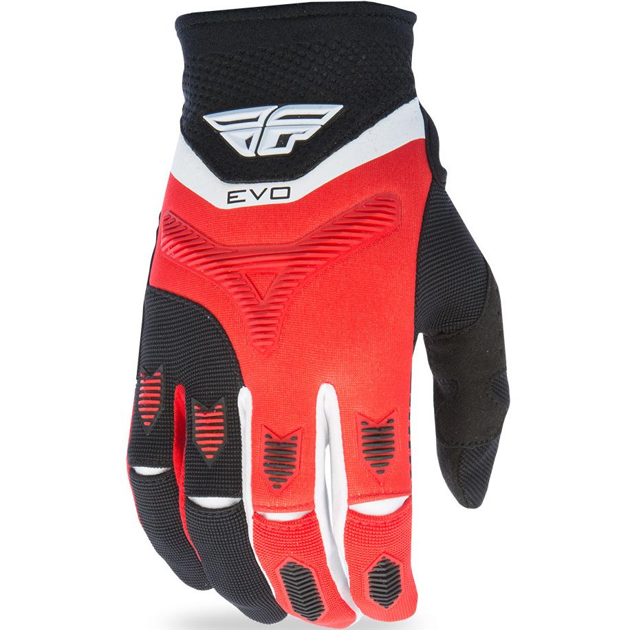 FLY - 2017 Evolution 2.0 перчатки, красно-черные