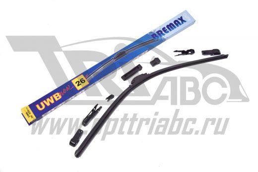 Щетка стеклоочистителя Bremax бескаркасная 650мм/26