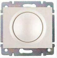 Накладка диммера поворотного 420Вт Legrand Galea Life White (арт.777060)