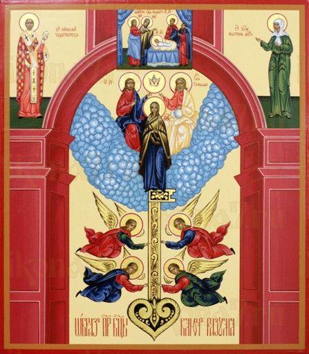 Ключ разумения икона Божией Матери (рукописная)