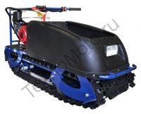 Барс Следопыт HV 9 D S (СП) полноразмерный буксировщик с двигателем Honda мощностью 9 л. с., склизовая подвеска, задний привод, вариатор Safari, агрессивная гусеница с увеличенным протектором