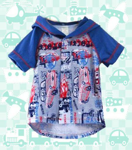 Рубашка для мальчика Граффити